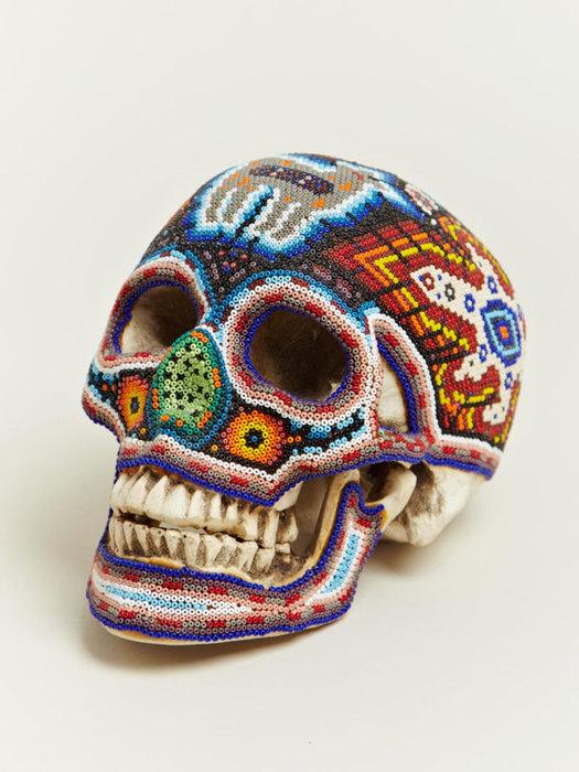 черепа покрытые бисером (525x700, 94Kb)