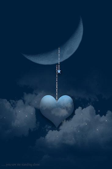 голубое сердце на цепочке (367x550, 12Kb)