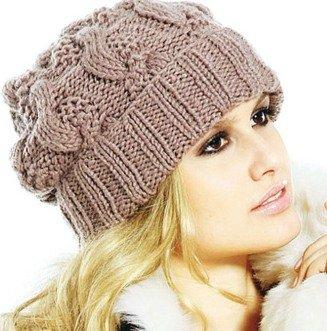 Самые модные шапки 2013 - вязаные и стильные.