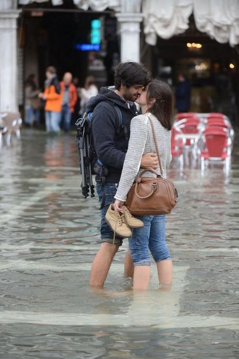 венеция тонет фото (466x700, 310Kb)