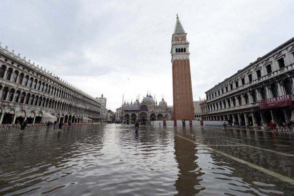 венеция тонет фото 2 (600x401, 53Kb)