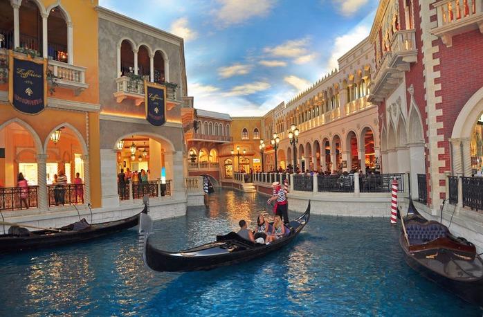 Отель венеция в лас вегасе - завораживающая роскошь. 45062