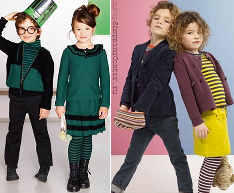 Джинсовый стиль. Детская мода ОСЕНЬ - 2010. Джинса как элемент