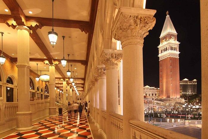 Отель венеция в лас вегасе - завораживающая роскошь. 55539