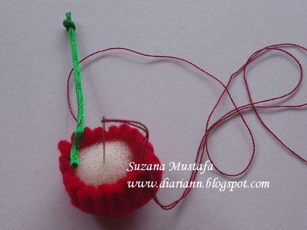 用彩带来做立体刺绣花 6  (大师班) - maomao - 我随心动