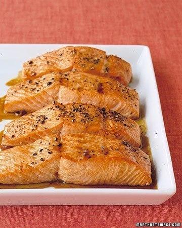 Рыба в медово-соевом соусе (360x450, 51Kb)
