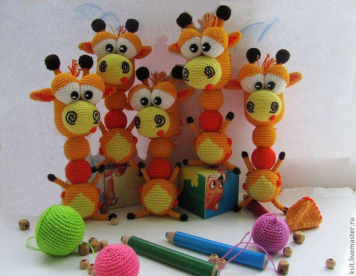 """钩针玩偶:""""长颈鹿"""" - maomao - 我随心动"""