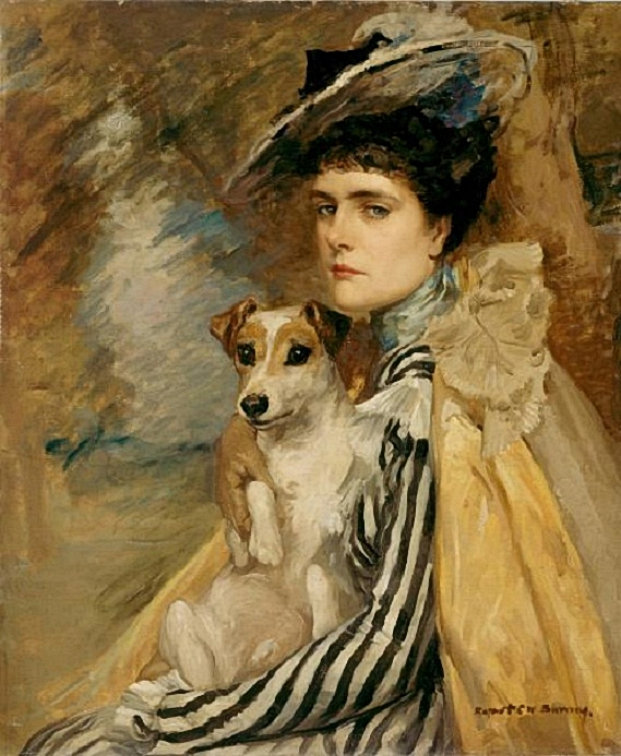 Bunny, Rupert (1864-1947) - 1902c. Portrait of the Artist's Wife (National Gallery of Victoria, Australia) (569x693, 307Kb)
