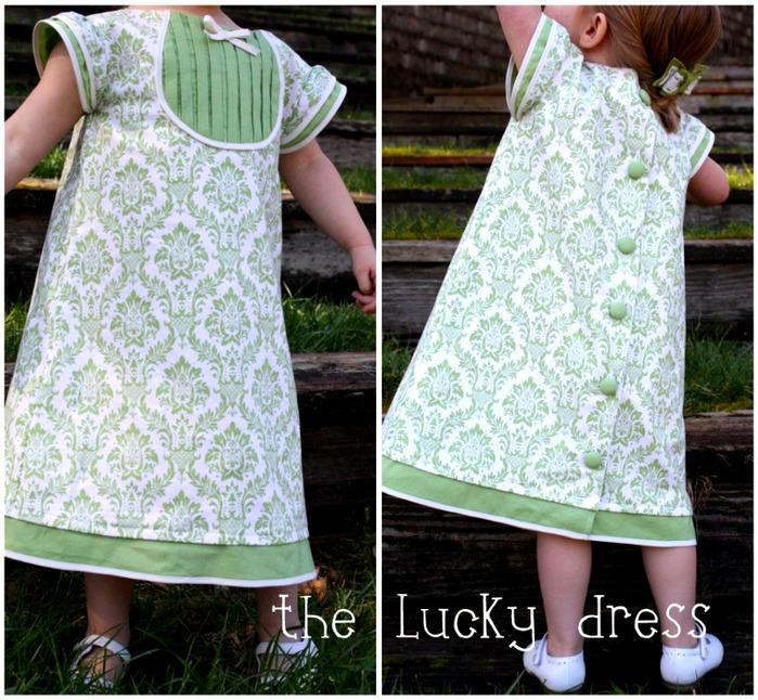 как сшить детское праздничное платье