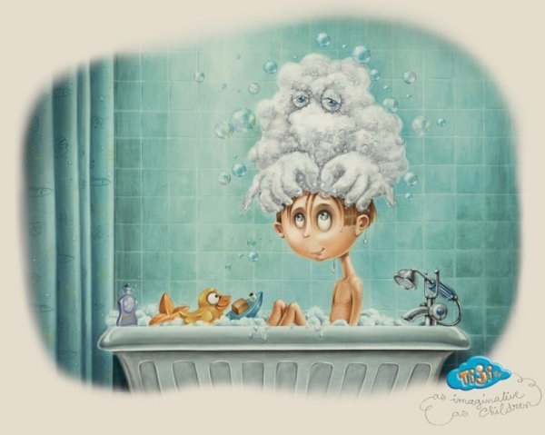 Пьерретта Диас креативная реклама TiJi 2 (600x479, 40Kb)