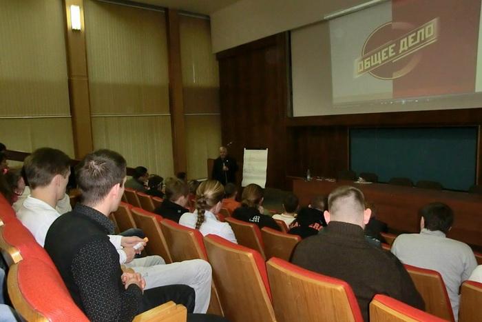23 октября в Обнинске прошла лекция борца за трезвость Владимира Жданова