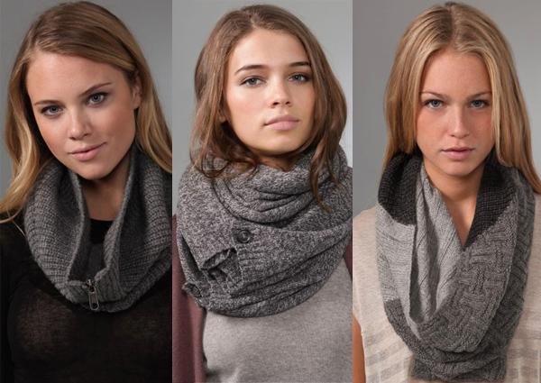 боа = шарф = снуд (шарф).