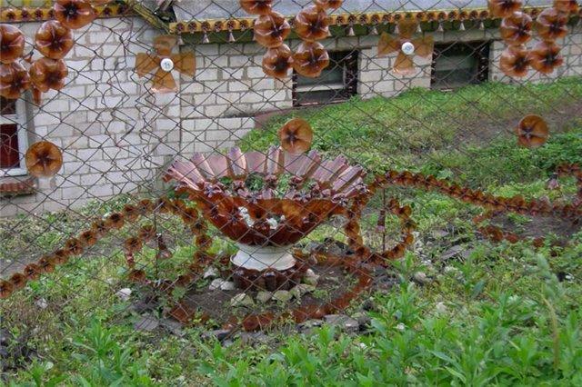 Поделки в сад своими руками фото из