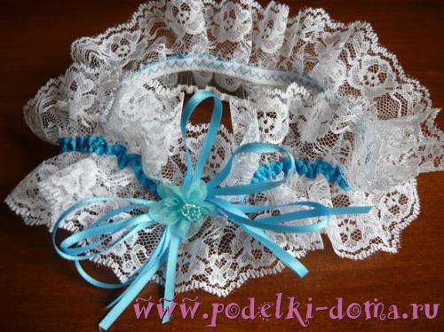 Как сшить украшение на свадебную своими руками