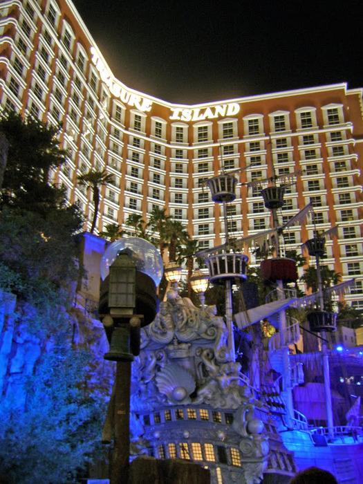 """""""Отель Остров Сокровищ, Лас Вегас, США"""" 48551"""