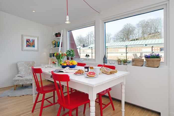 красивый дизайн для маленькой квартиры фото 5 (700x465, 238Kb)
