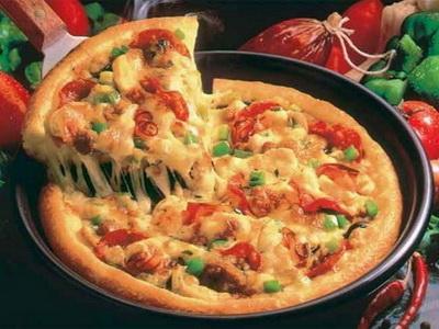 рецепт с фото быстрая пицца