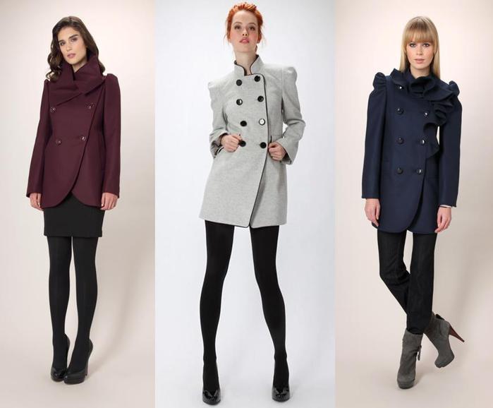 С чем носят френчи и пальто