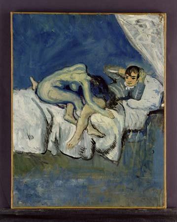 Pablo-Picassos-Erotic-Scene-La-Douleur-1900 (359x450, 40Kb)