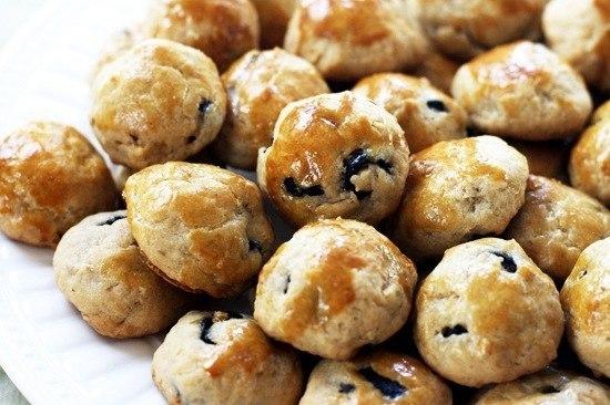 Булочки с грецким орехом и оливками (550x366, 58Kb)