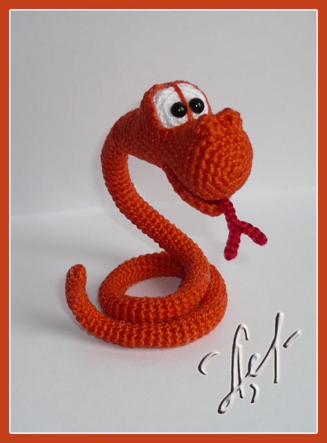 амигуруми схемы змея