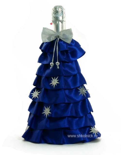 Как сшить костюм на бутылку шампанского на новый год