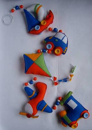 Выкройка новогодних игрушек из флиса