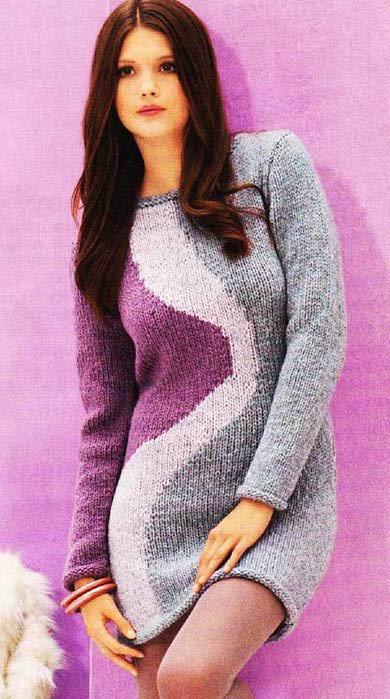 Длинный-пуловер-или-миниплатье (390x700, 59Kb)