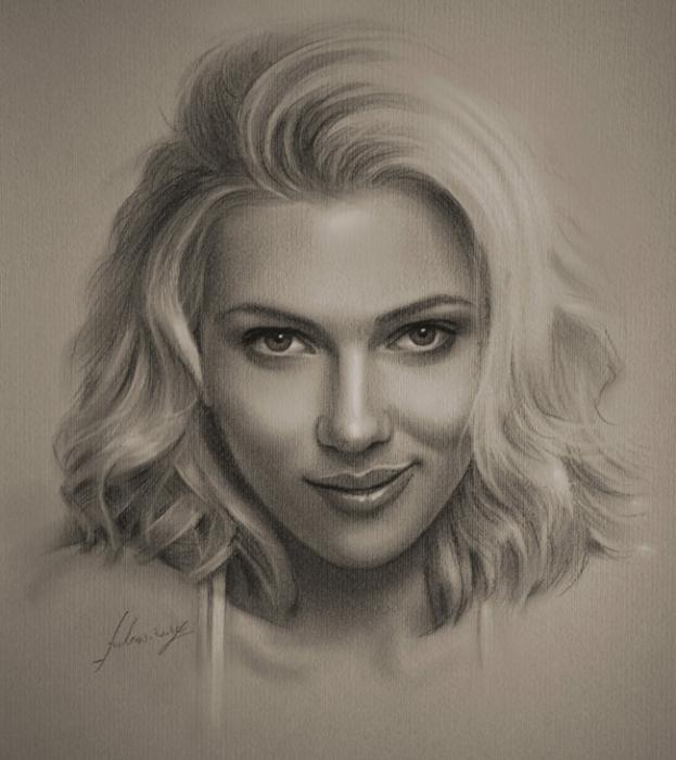 портреты простым карандашом17 (623x700, 239Kb)