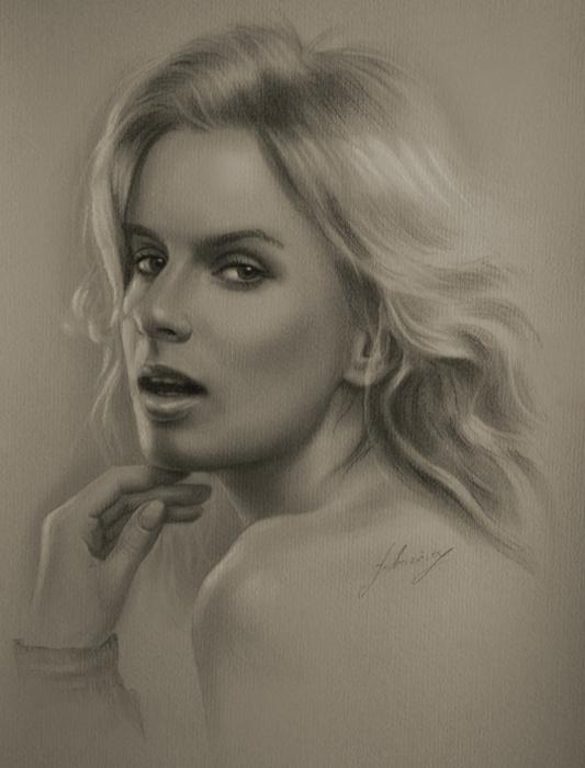 портреты простым карандашом19 (533x700, 189Kb)