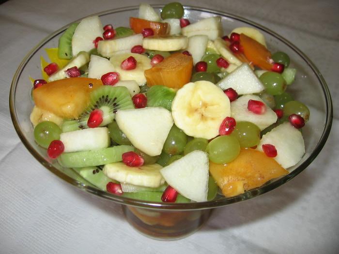 Фруктовых салатов с
