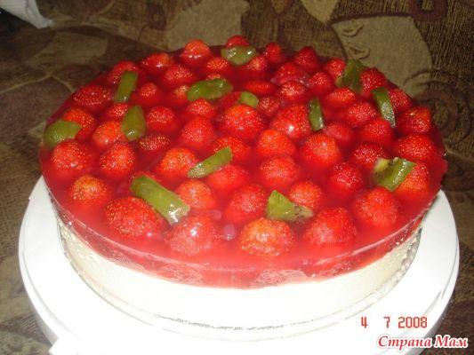 Холодные торты рецепты с фото