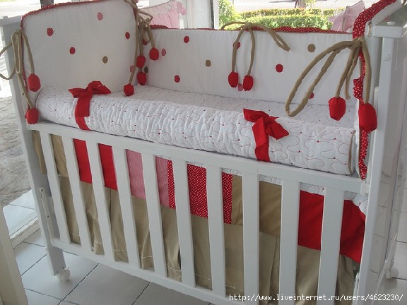 Балдахин в кроватку своими руками выкройки