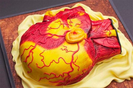 необычный торт голова 2 (560x373, 49Kb)
