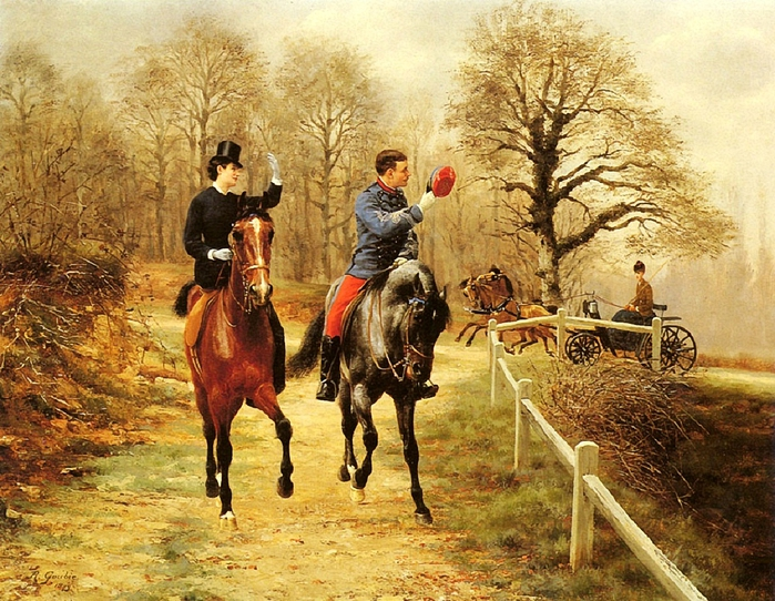 Goubie_Jean_Richard_An_Afternoon_Ride (700x542, 384Kb)