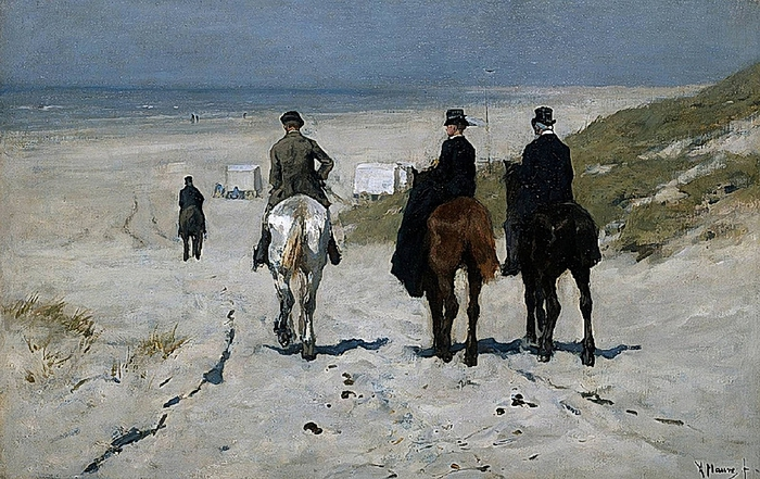 Anton Mauve - Morning Ride (700x441, 292Kb)