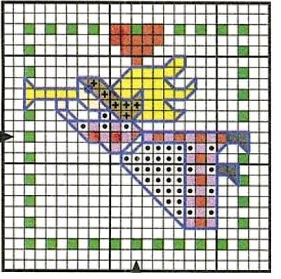 Эти схемы для вышивки можно использовать для создания открыток в технике скрапбукинге, либо применять для новогодних...