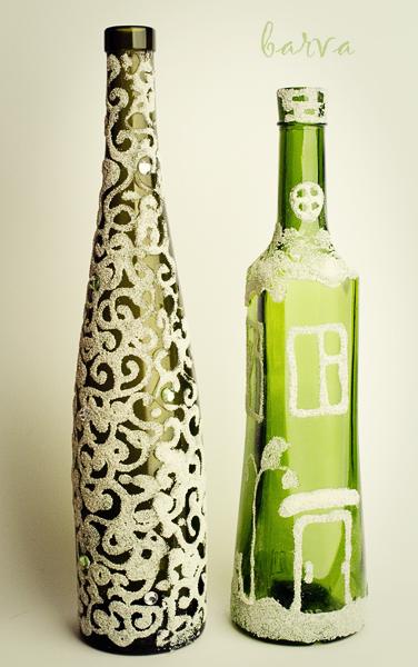 """Мастер-класс """"Декоративное стекло: сувенирные бутылочки, роспись, композиции"""" - Наталья Курунова"""