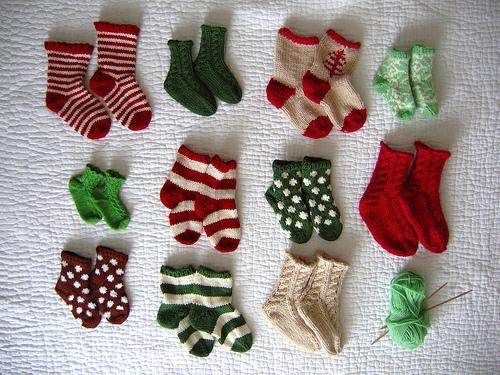 ravelry_Baby sock advent calendar1 (500x375, 174Kb)