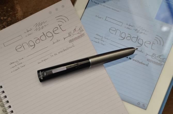 Sky Wi-Fi Smartpen ручка прикольный гаджет 3 (670x443, 27Kb)