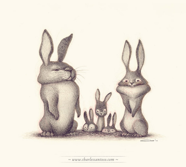 rabbit_family_charlessantoso (613x550, 55Kb)