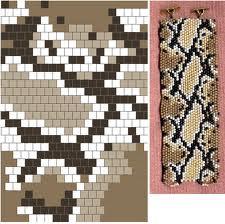схемы плетения из бисера браслетов картинки.