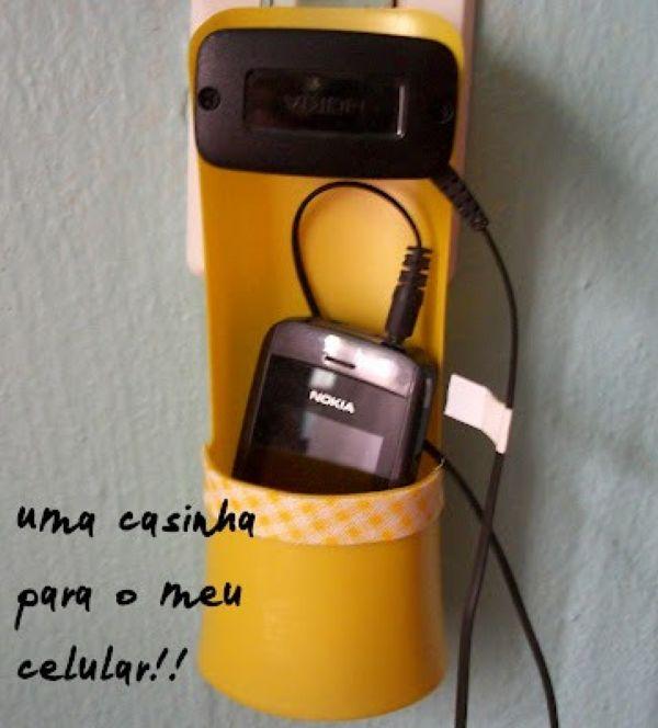 Подставка для телефона с зарядкой своими руками
