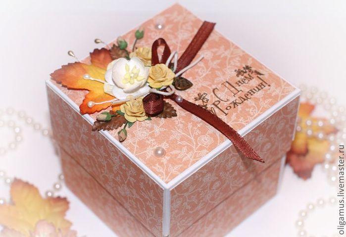 Коробка для подарка своими руками мастер класс 51