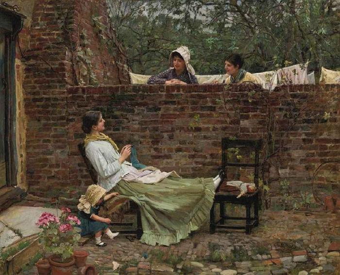 gossip-by-john-william-waterhouse (700x566, 79Kb)