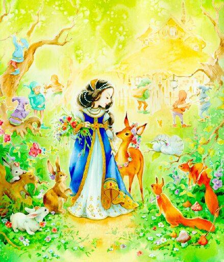 11.33998.512.Snow White (439x512, 199Kb)