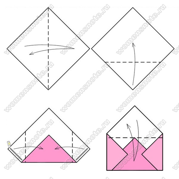 Как сделать письмо своими руками из бумаги