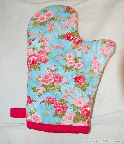 Шьем рукавицы для кухни