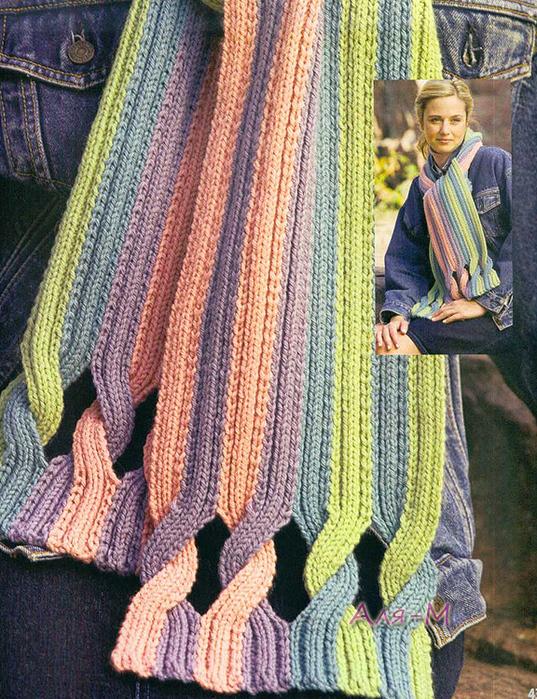 Оригинальные вязания для спицами