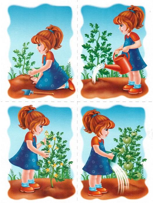 Сюжетные картинки для детей 6 лет